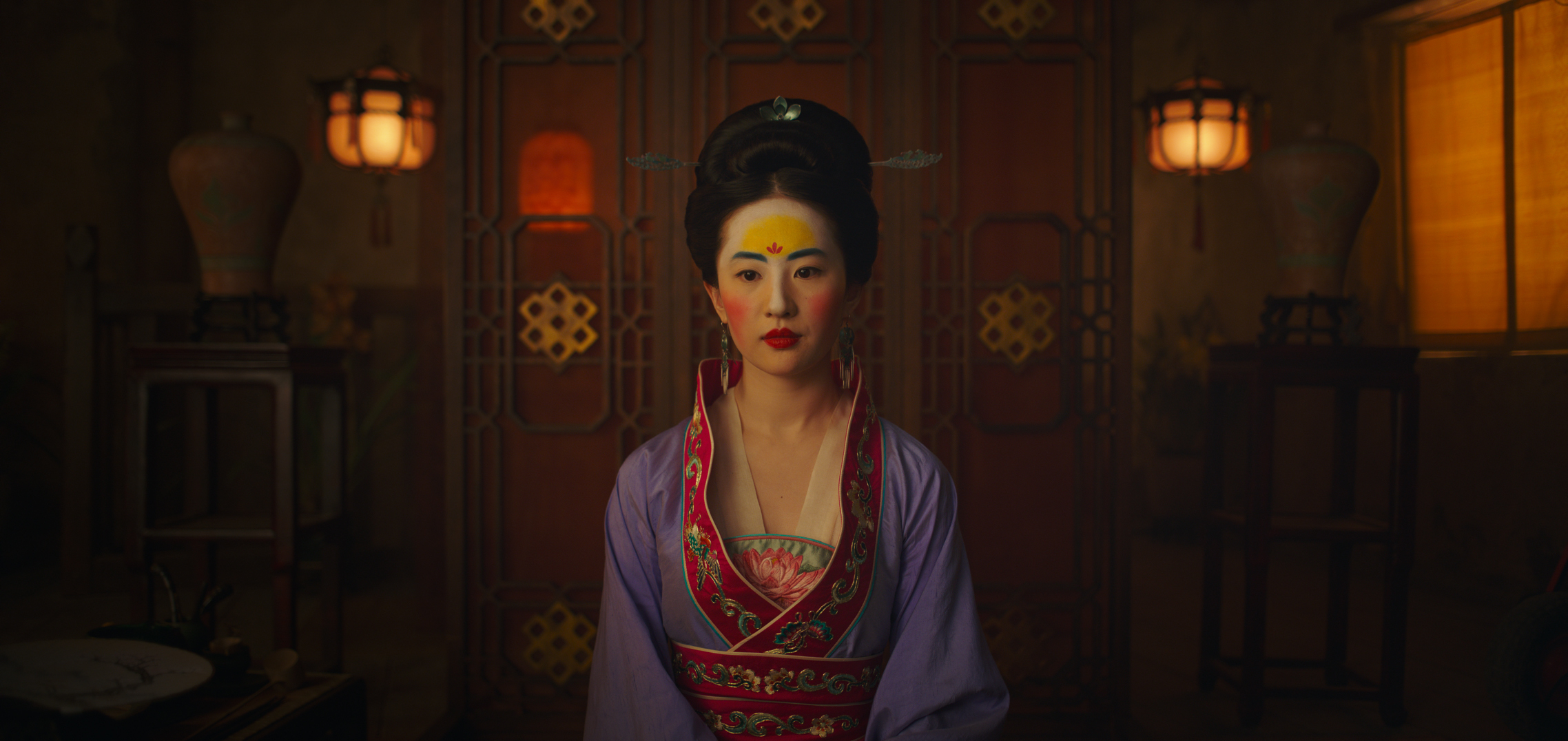 "Mulan, a young maiden, all dolled up -- to be presented to a matchmaker, to discover if she's worthy of a ""good"" husband"